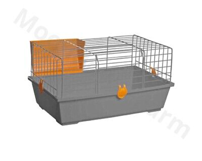 Single Level Indoor Rabbit Cage Small Animal Pet Home Rat Guinea Pig Hutch House