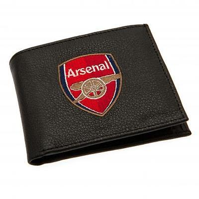 Arsenal FC Embroidered Crest PU Wallet 7000 Brand New