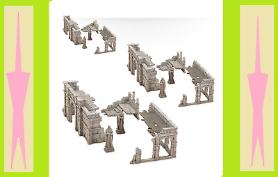 New lord of the rings hobbit middle earth Warhammer Ruins of Osgiliath Multipack