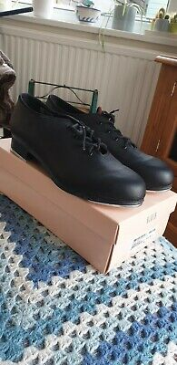 Bloch Black Jazz Tap Dance Shoes Lace Up Oxford with taps Ladies SF3710L