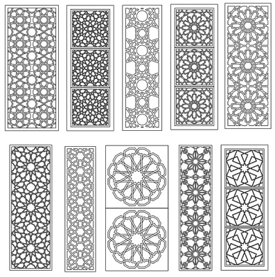 DXF FILE FOR CNC PLASMA ROUTER Laser Cut Vector CDR - Pack