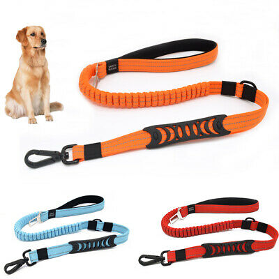 Anti Shock Pet Dog Car Seat Belt Clip Bungee Lead Vehicle Travel Strong Harness