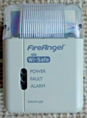 FireAngel WFSVP-629 Wi-Safe Strobe And Vibrating Pillow Alarm Alert System