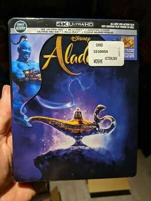 Aladdin (2019) Best Buy Steelbook (Blu-ray + 4K UHD) BRAND NEW!! PRE-ORDER!!
