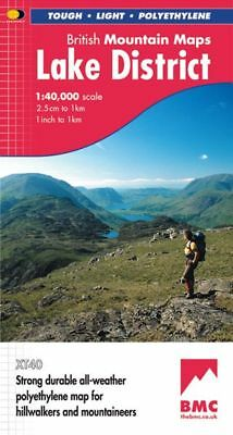 Lake District: British Mountain Map  Harvey