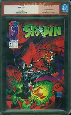 Spawn #1 CGC 9.9 Image 1992 Todd McFarlane! WP! Mint Copy not 9.8! C10 223 cm