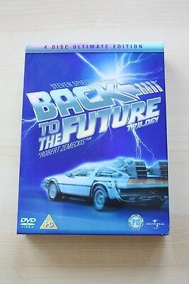 Back To The Future Trilogy Ultimate Edition 4 Disc Dvd Set