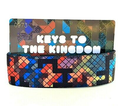 Keys To The Kingdom Strap Bracelet Zox SOLD OUT ~ Only 1000 ~ Stained Glass