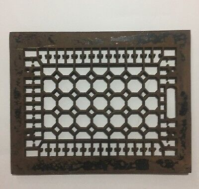 Cast Iron Floor Furnace Grille Heater Heat Grate Register Cover