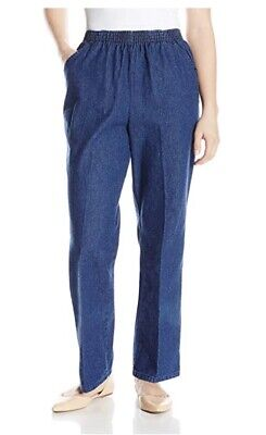 Chic Classic Collection Women's  Stretch Elastic Waist Pull-On Pant 8A NWT