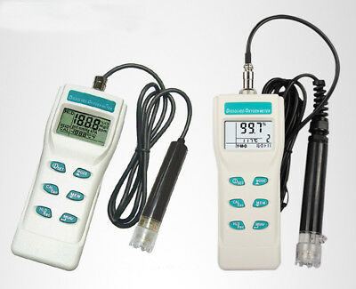 BRAND NEW Dissolved Oxygen  Meter Digital Barometric Pressure Compensation