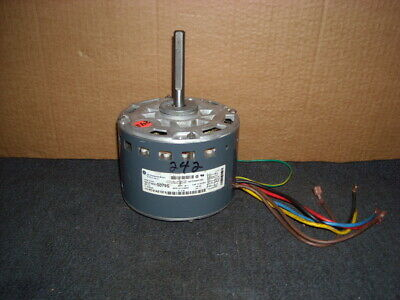 Gc12- Ge Comm 1/2 Hp 5Kcp39Hg Blower Motor For Hvac 1075 Rpm 3 Spds 2.9 A