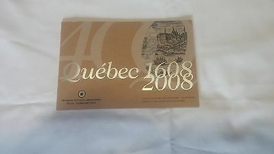 2008 Canada Quebec City's 400th Anniversary Collector Card