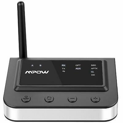 Mpow 3 in 1 Bluetooth 5.0 Transmitter Receiver Audio Adapter aptX HD 164ft Range