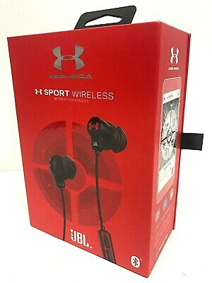 JBL Under Armour Sport Wireless Headphones with Remote and Mic - BLACK