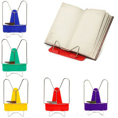 HK- Portable Foldable Reading Adjustable Angle Reading Book Stand Document Holde