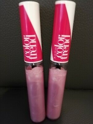 **LOOK** 2 x AVON COLOR TREND LIP GLOSS # ANGEL # NEW AND BOXED # FREEPOST