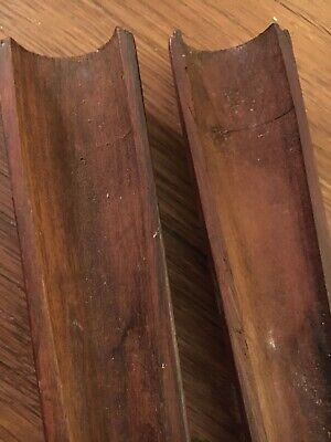 2 M1903A3 Walnut Hand Guards WWII USGI WITH CLIPS