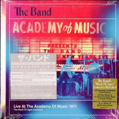 THE BAND-LIVE AT...OF MUSIC 1971...-IMPORT 5 CD+BOOK WITH JAPAN OBI Ltd/Ed AJ75