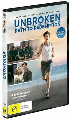 Unbroken : Path to Redemption (DVD, 2019) (Region 2,4) New Release