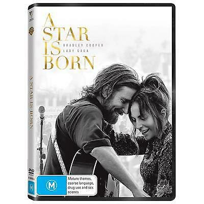 A Star Is Born (DVD, 2019) (Region 4) New Release