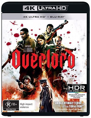 Overlord (4K Ultra HD/ Blu-Ray, 2019) (Region B) New Release