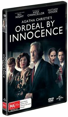 Agatha Christie - Ordeal By Innocence (DVD, 2019) (Region 2,4) New Release