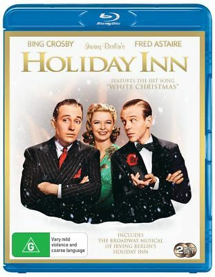 Holiday Inn /Holiday Inn -Stage Play | B/W + Color (Blu-ray, 2018) (Region B)