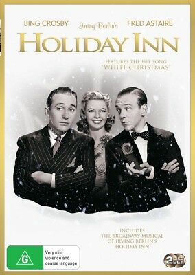 Holiday Inn /Holiday Inn -Stage Play | B/W + Color (DVD, 2018) (Region 4) New