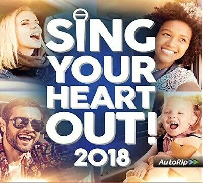 Sing Your Heart Out 2018 2 CD Brand New and sealed