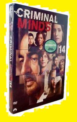 New & Sealed Criminal Minds Season 14 (DVD,4-Disc Set) Free Shipping