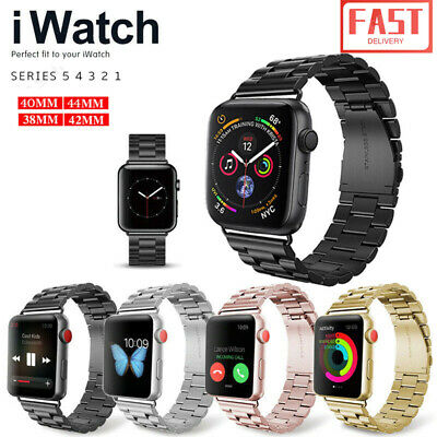 Replacement For Apple Watch Series5 4 3 2 1 Bracelet Strap Metal Band 40/44mm