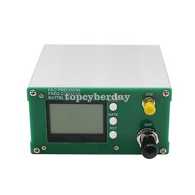 FA-2 1Hz-6GHz Frequency Counter Meter BNC SMA+ DC 12V Power Adapter
