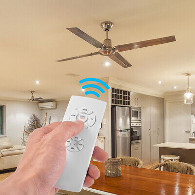 Wireless Ceiling Fan Light Kit Lamp Remote Control Speed Timer Controller LD1958