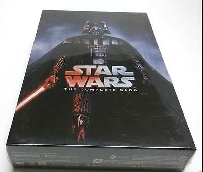 HOT Star Wars: The Complete Saga DVD (I,II,III,IV, V, VI, 13-Disc Box Set 1-7)
