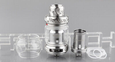 Authentic FreeMax Mesh Pro Sub Ohm Tank Clearomizer Metal Silver