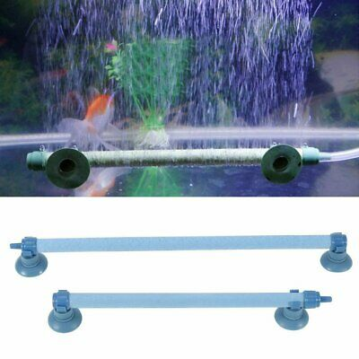 Fish Tank Aquarium Air Stone Bubble Wall Tube Aeration Pump Diffuser Accessory S