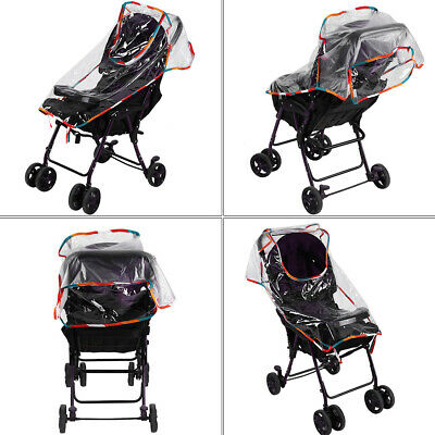 New Baby Pushchair Stroller Pram Rain Cover Raincover For Universal Buggy