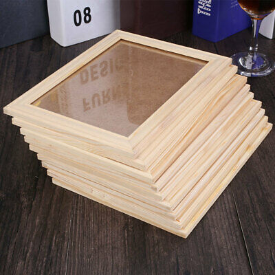 95A7 Photo Frame Decorative Home Decor Party Banquet Wooden Hanging Style