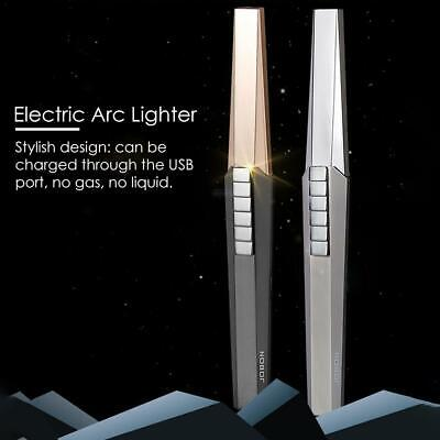 Arc Pulse Igniter USB Charging Electric Cigarette Lighter Aluminum Kitchen BBQ