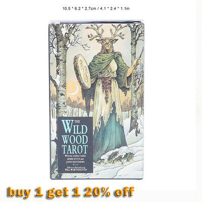 Wildwood Tarot Cards Radiant Rider Waite Smith Tarot Deck Board Game Cards√