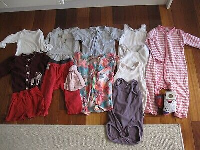 Bulk 15 items - Girl Size 2 (Bonds, Marquise,H&M) (18-24 months) Clothing