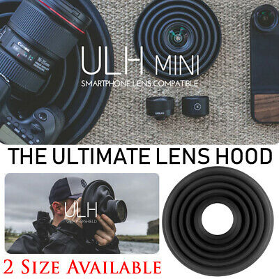 Photographers The Ultimate Lens Hood Take Reflection-Free Photos Videos L/S Size