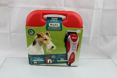 Wahl Professional Animal Deluxe U-Clip Pet Clipper and Grooming Set (#9484-300)