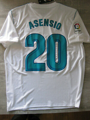 the best attitude 2b210 ad782 MARCO ASENSIO #20 Real Madrid Shirt Camiseta 2017/18 Adidas Spain (L)