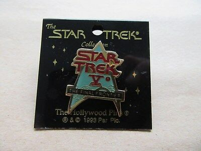 Star Trek -  Pin :  The Final Frontier