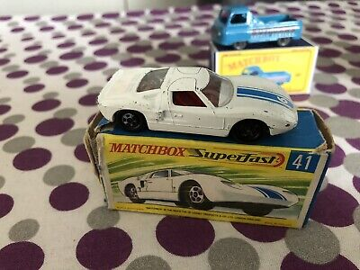 41c FORD GT40 MATCHBOX TRANSFERS//DECALS