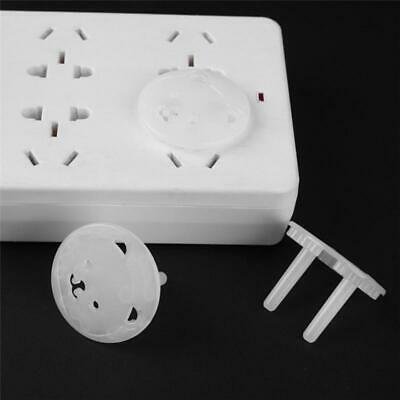 10PCS Protective Children'S Power Socket 2 Hole Protective Cover Baby Safety New