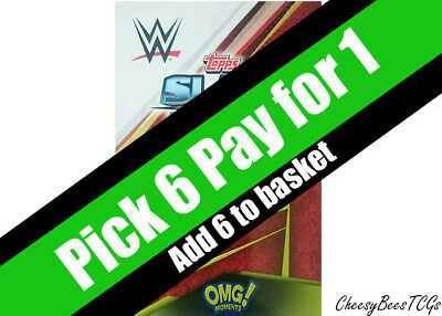 Topps - WWE Slam Attax Universe - OMG Moments Cards x 1
