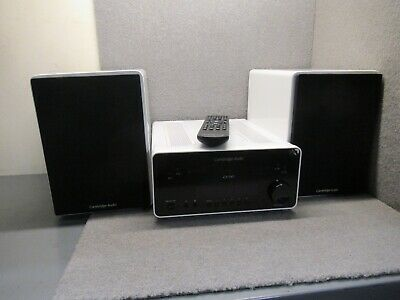 Cambridge Audio One Cd-Rx30 White All In One Music System *Free Postage*